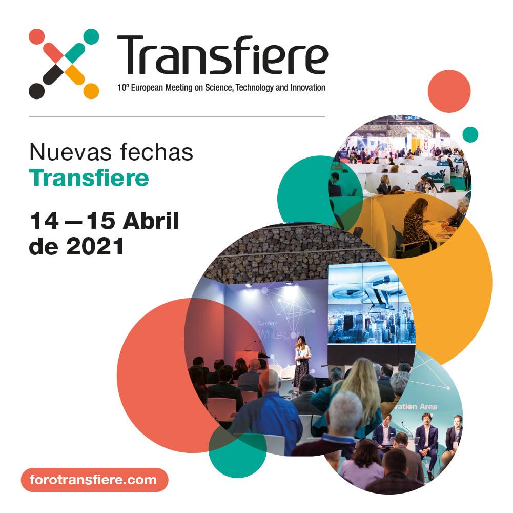 Nuevo cartel con la fecha aplazada del X Foro Transfiere