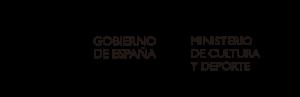 Logo ministerio cultura y deporte